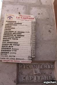 menu, bardzo proste, tylko pyszne potrawy, fajna sprawa - można zamówić 1/2 porcji dzięki czemu można popróbować więcej