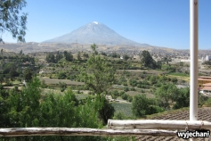 Mirador Carmen Alto Chilina - wulkan Misti