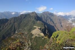 06 widok z Huaynapicchu na Machu Picchu