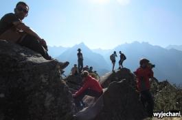07 tlok na szczycie Huaynapicchu