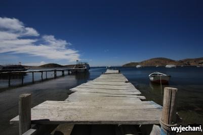 10 Isla del Sol, wizja z pomostem