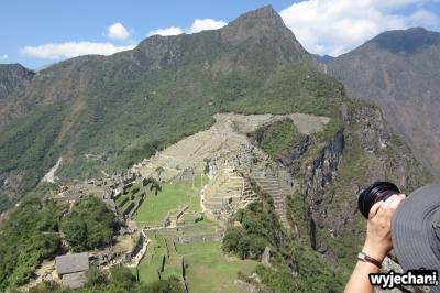 11 fotograf robiacy zdjecie Machu Picchu