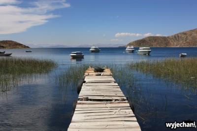 11 Isla del Sol, wizja z pomostem