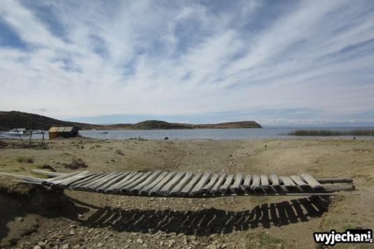 12 Isla del Sol, wizja z innym pomostem