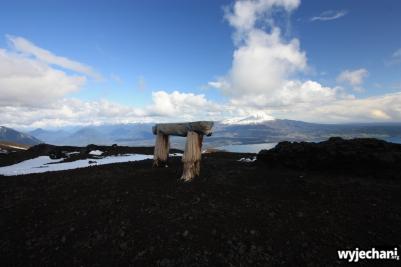 10 Ensenada okolice - widok z wulkanu Osorno