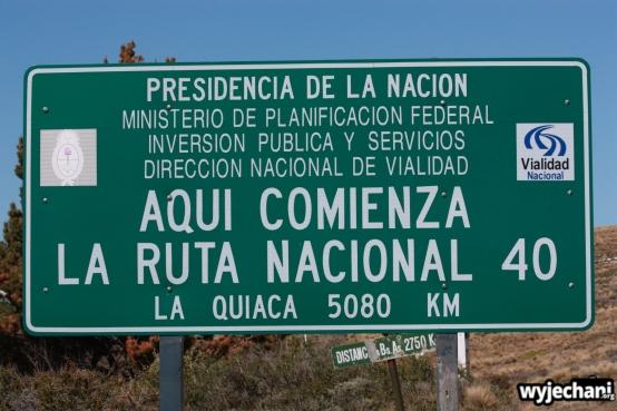 01 Cabo Virgenes - poczatek Ruta 40