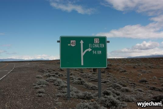 01 El Chalten - droga dojazdowa