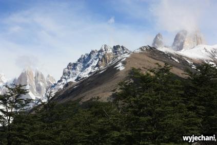 01 wycieczka na Laguna Torre - widok na Fitz Roya i Cerro Torre