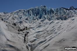 02 Perito Moreno - spacer - byli inni przed nami