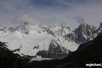02 wycieczka na Laguna Torre - widok na Cerro Torre