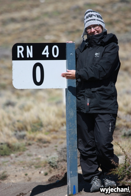 03 Cabo Virgenes - poczatek Ruta 40