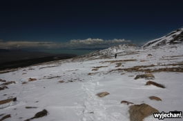 03 Loma del Pliegue Tumbado - na szczycie