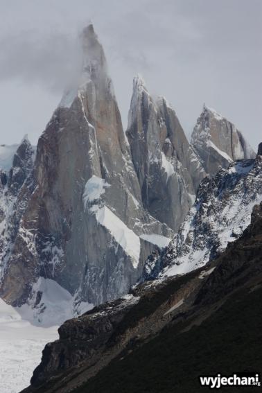 03 wycieczka na Laguna Torre - widok na Cerro Torre