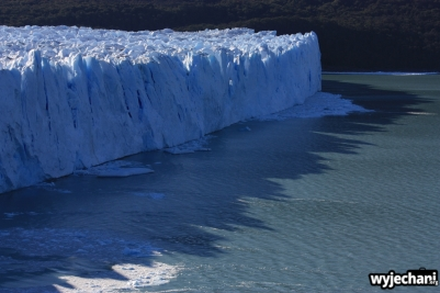 04 Perito Moreno z tarasow wieczorem