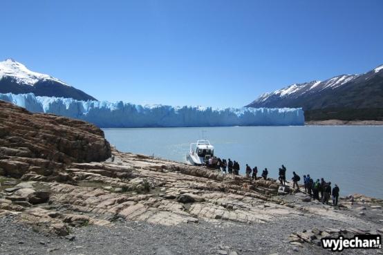 11 Perito Moreno - spacer - droga powrotna