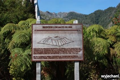 25 Carretera Austral, cz3 - wulkan Chaiten