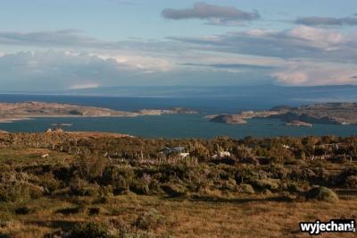 67 Carretera Austral, cz7 - Puerto Ibanez - widok na jezioro