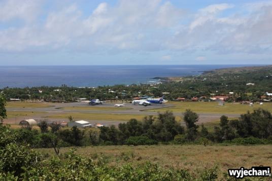 08 Wyspa Wielkanocna - lotnisko