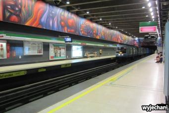 13 Santiago - metro