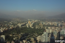 16 Santiago - widok z Sky Costanera