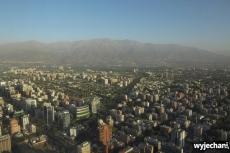 17 Santiago - widok z Sky Costanera