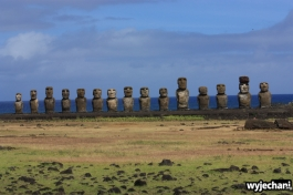 20 Wyspa Wielkanocna - Ahu Tongariki