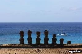 23 Wyspa Wielkanocna - Ahu Nau Nau