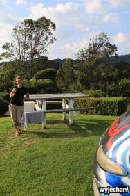 01 Waitomo - Darmowy, prywatny camping