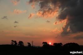 02 Waitomo - sunset
