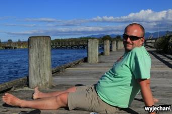 04 Lake Taupo - w oczekiwaniu na gorska wycieczke