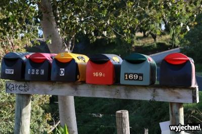 19 Taranaki - skrzynki listowe