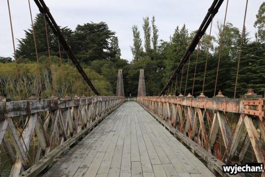 05 PN Fiordland - kolejny slynny Suspension Bridge
