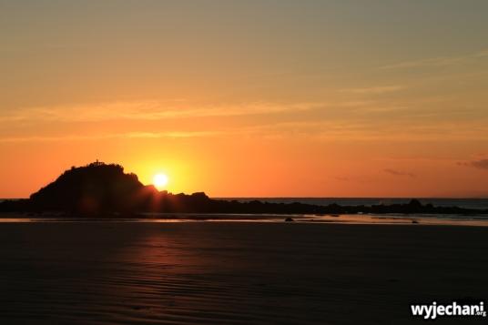 10 The Catlins - Monkey Island - sunset