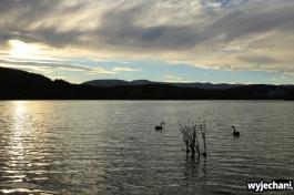 09 Wellington i okolice - Lake Tutira sunset