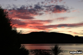 10 Wellington i okolice - Lake Tutira sunset