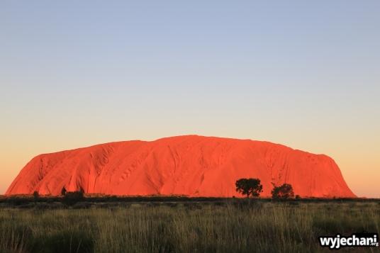 29 Outback cz.1 - Uluru - zachod slonca