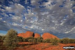 41 Outback cz.1 - Kata Tjuta - zachod slonca