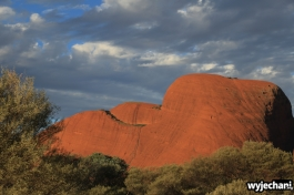 42 Outback cz.1 - Kata Tjuta - zachod slonca