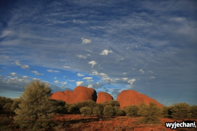 43 Outback cz.1 - Kata Tjuta - zachod slonca