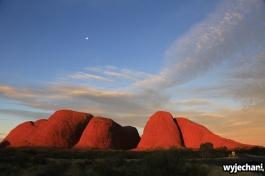 44 Outback cz.1 - Kata Tjuta - zachod slonca
