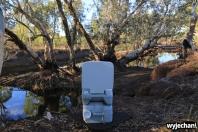 56 Cape York - inne miejsca - Savannah Way - toaleta z widokiem