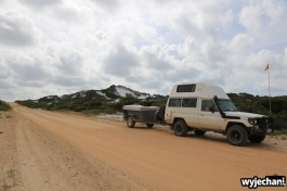 59 Cape York - przejazdy - droga do Elim Beach