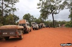 64 Cape York - przejazdy - Bamaga Road - kolejka na prom