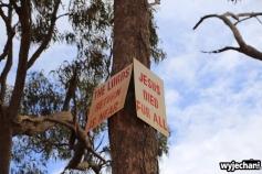67 Cape York - przejazdy - Developmental Road - znak