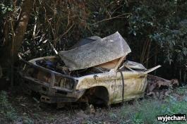 92 Cape York - atrakcje - porzucony samochod
